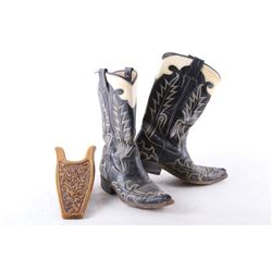 Western Boots by Border Economy & Boot Jack