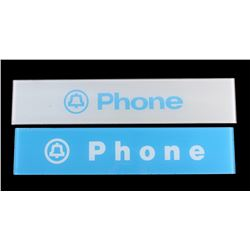 Glass Telephone Booth Panels