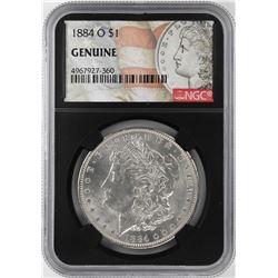 1884-O $1 Morgan Silver Dollar Coin NGC Genuine