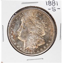 1881-S $1 Morgan Silver Dollar Coin Nice Toning
