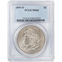 1895-O $1 Morgan Silver Dollar Coin PCGS MS62