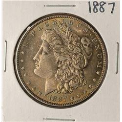 1887 $1 Morgan Silver Dollar Coin Nice Toning