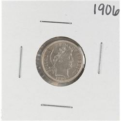 1906 Barber Dime Coin