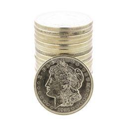 Roll of (20) 1921-D $1 Morgan Silver Dollar Coins