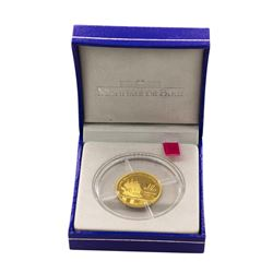 2007 10 Euro La Fayette (1757-1834) Gold Proof Coin