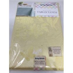 Spring Damask Tablecloth (60in x 104in)