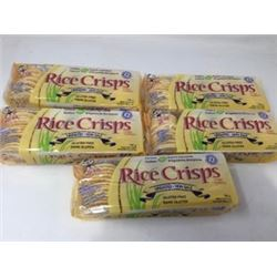 Lot of Gluten Free Unsalted Rice Crisps (5 x 100g)