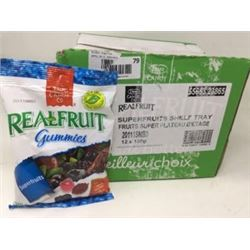Real Fruit Superfruits Gummies(12 x 180g)