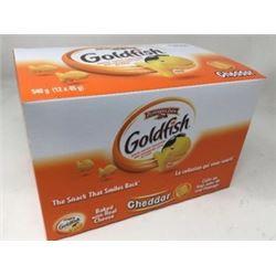 Goldfish Cheddar Crackers (12 x 45g)