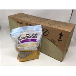 Case of Goodfields Sunflower Kernesl- Roasted & Salted