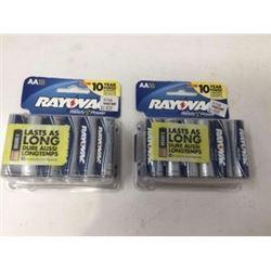 Rayovac Batteries (2 x 18 AA)