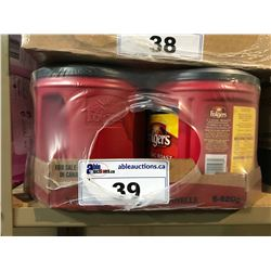6X - 920G CANS OF FOLGERS CLASSIC ROAST COFFEE