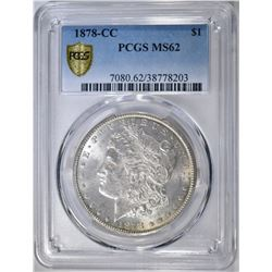 1878-CC MORGAN DOLLAR PCGS MS-62