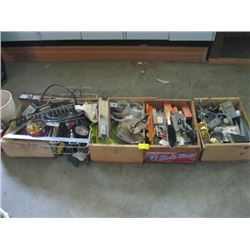 LARGE LOT MISC. ELECTRICAL HARDWARE, ETC.