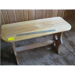 WOODEN BENCH/TABLE