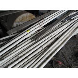 LARGE LOT USED PVC PIPE