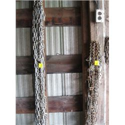 2 SETS OF TIRE CHAINS