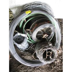 LOT OF MISC. WIRE