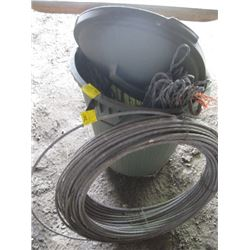 ROLL OF CABLE & CABLE TIES