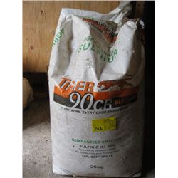 2 BAGS AGRICULTURE SULPHUR