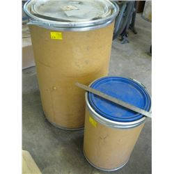 2 ROUND CONTAINERS W/?