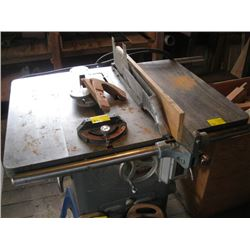 """ROCKWELL 10"""" CABINET MAKERS TABLE SAW"""
