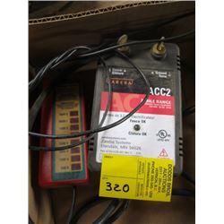 ZAREBA ELECTRIC FENCER & RED SNAP R VOLTAGE TESTER