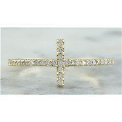 0.35 CTW 18K Yellow Gold Diamond Ring