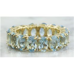 5.28 CTW Aquamarine 14K Yellow Gold