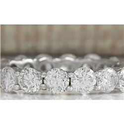 2.70 CTW Natural Diamond Ring In 14K Solid White Gold