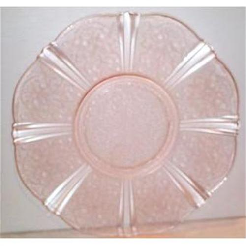 """Pink American Sweetheart 12/"""" Salver 2 available"""