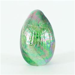 Dichroic Egg - Terra by Glass Eye Studio