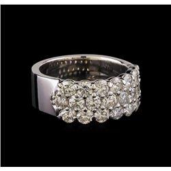14KT White Gold 2.17 ctw Diamond Ring