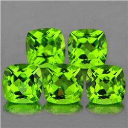 Natural AAA Green Peridot {Flawless-VVS}