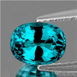 NATURAL PREMIUM AAA ELECTRIC BLUE ZIRCON - FL