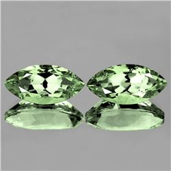 NATURAL GREEN AMETHYST 16x8 MM [FLAWLESS-VVS]