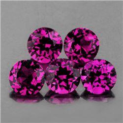 Natural Purple Pink Rhodolite Garnet (Flawless)