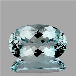 Natural Blue Topaz 34.42 Ct -Unheated & Untreated