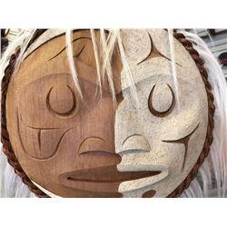 West Coast Native Winter Moon Mask