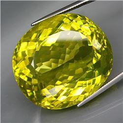 Natural JUMBO Lemon Yellow Quartz 117.06 Ct