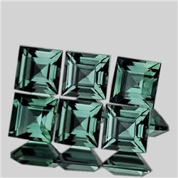 Natural Unheated Blue Green Sapphire 2.80 MM - FL