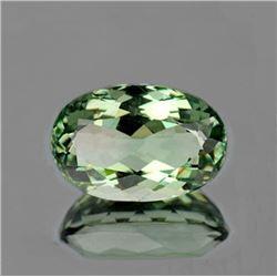 Natural Green Amethyst 15x10 MM [Flawless-VVS]
