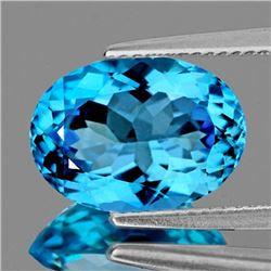 Natural Brilliant Swiss Baby Blue Topaz 18x13 MM - FL