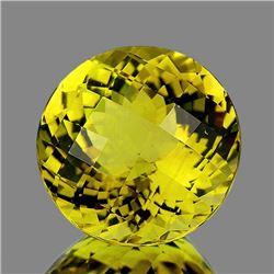 Natural Light Green Gold Lemon Quartz [IF-VVS]
