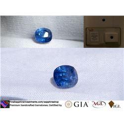 Vivid Cornflower Blue Sapphire, Ceylon | GIA 2.10 ct