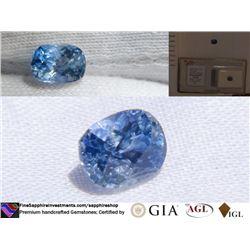 Vivid Blue Sapphire, premium handcrafted, AGL 1.70 ct
