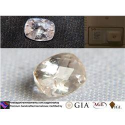 Peach Pink Sapphire, premium cut | AGL 2.36 ct