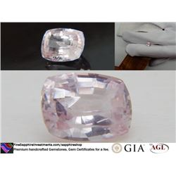 Vivid pastel Pink/Violet fine handcrafted Sapphire 2.39
