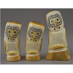 ZUNI INDIAN ANTLER FETISHES
