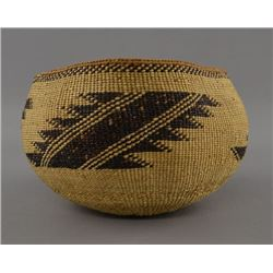 HUPA INDIAN BASKETRY BOWL